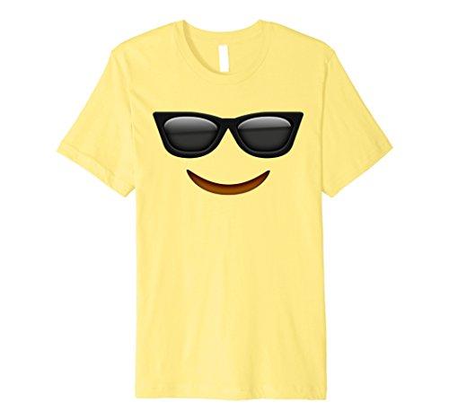 Mens Halloween Emoji Costume T-shirt Small Lemon (Men Halloween Costumes Ideas 2017)