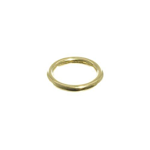 West Coast Paracord Brass O-Rings - 10 Packs - Leathercraft, DIY, Jewelry, Handbag, Strapping, Webbing ()