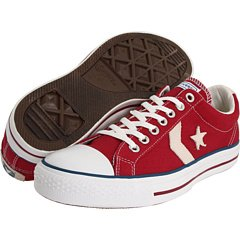 Converse Women's Star Player Ev Ox Red / White Ankle-High...