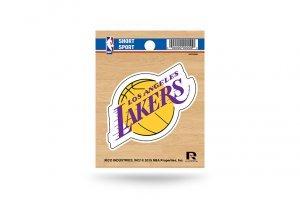 Rico NBA Los Angeles Lakers Die Cut Team Logo Short Sport Sticker