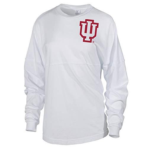 - Official NCAA Indiana Hoosiers IU Womens Spirit Wear Jersey T-Shirt SMALL