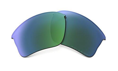 Oakley Flak Jacket XLJ Replacement Lenses Jade Iridium - Flak Oakley Polarized Jacket