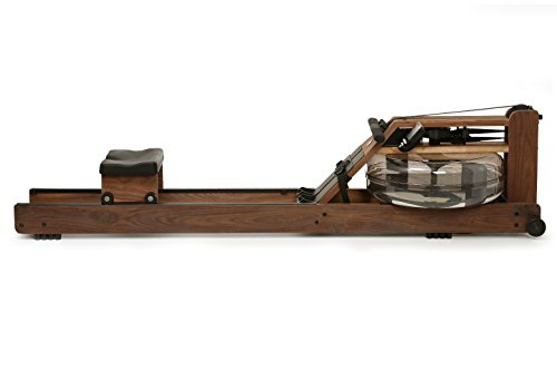 WaterRower Classic Rowing Machine in Black Walnut with S4 Monitor by Water Rower