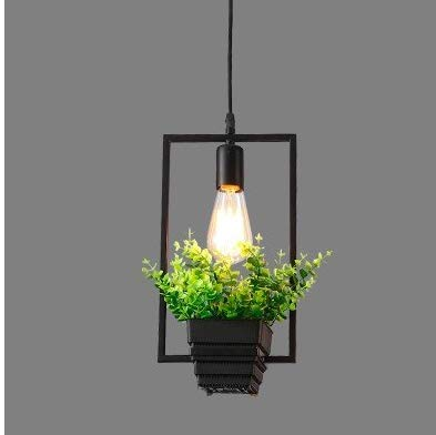 Pendant Light Industrial Design E27 E27 Modern Chandelier Industrial Vintage Pendant Light The Nordic Cafe Garden Flowers and Plants Light Bar