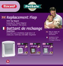 Petsafe Staywell Replacement Flap Medium for 700 (Staywell Replacement Flap)