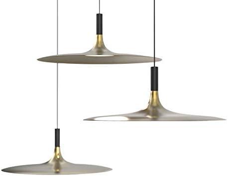LED Pendant Lights, LENGGO 5W Ceiling Lamps Equal 50W Halogen Fixture Bronze Used for Kitchen Island, Restaurant, Bar Counter, Cafes 1 Pack