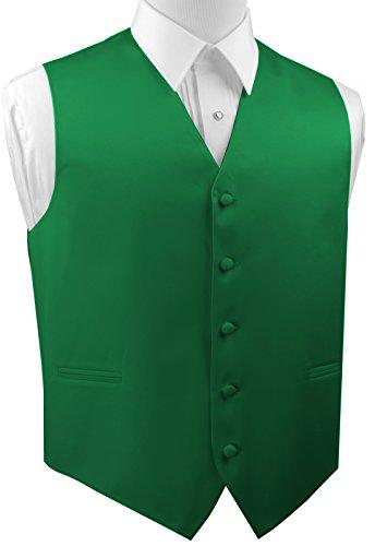 Brand Q Men's Formal, Wedding, Prom, Tuxedo Vest-Green-XL ()