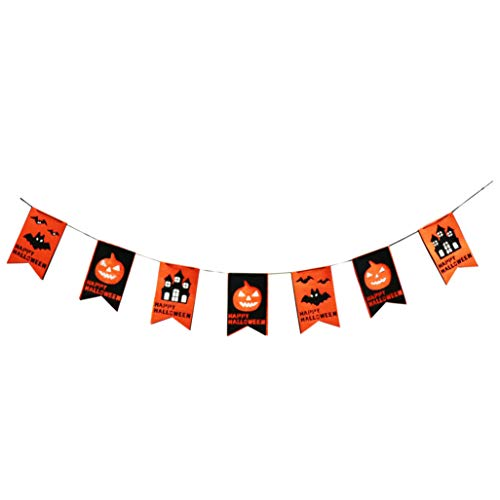 Halloween Party Decorations of DIY Happy Halloween Banner,Halloween Creepy Creatures Hanging Swirl Ceiling Decorations, fr Halloween Trick Or Treat Scary Party Supplies 18 -