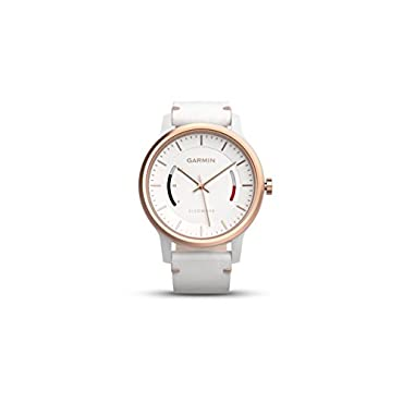 Garmin vívomove Classic Rose Gold-Tone with Leather Band