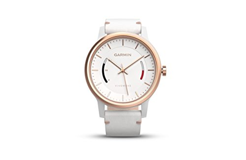 Garmin vívomove Classic - Rose Gold-Tone with Leather Band by Garmin