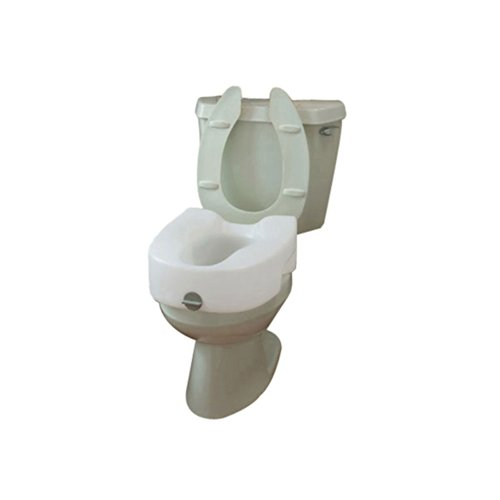 Maddak Bath Safe Lock On Elevated Toilet Seat (725753101)