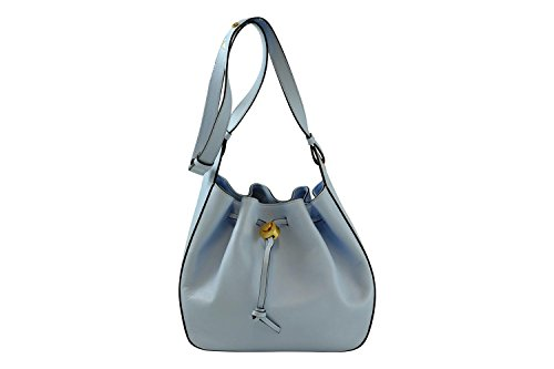 Coccinelle Clessidra shoulder bag calf leither iris