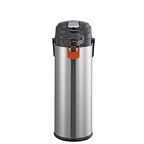 Service Ideas ENALG30S Airpot with Lever, Glass and Stainless Steel, NSF Listed, 3.0 L by Service Ideas (Image #3)