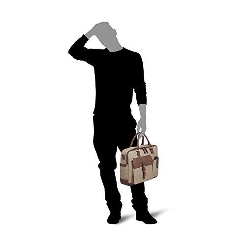 PICARD Herren Aktentasche Tasche Urban Trek Matcha 2344 KllxB