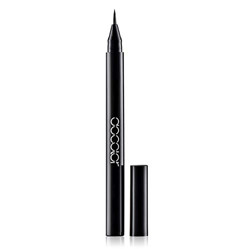 Docolor Liquid Eye liner Pen, Waterproof and Easy to Makeup Eyeliner Pencil Eye Tool (Eyeliner)