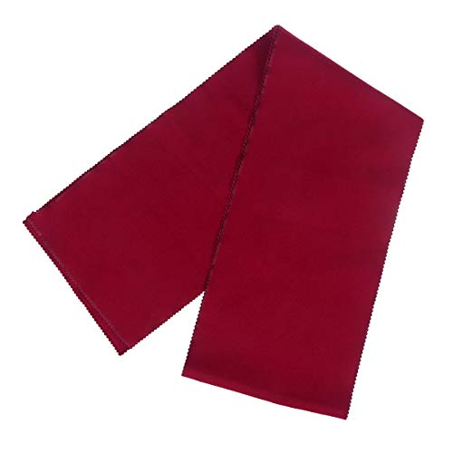 ULTNICE Piano Keyboard Anti-Dust Cover Key Cover Cloth for Piano Cleaning Care Burgundy