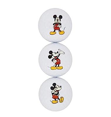 Disney Parks - Golf Ball Set - Mickey Mouse - 3pc