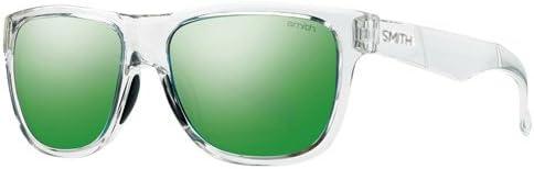 TALLA 54. Smith Lowdown Slim/N Gafas de Sol para Hombre Blancas/Cristal Rojo
