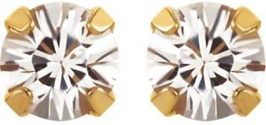 Set-Imitation Birthstone Inverness/Â Piercing Earrings