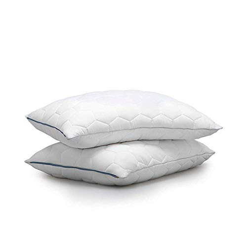 SHEEX - Original Performance Down Alternative Back/Stomach Sleeper Pillow, All of The Softness of Down Pillows with None of The Allergies, Bright White (King)