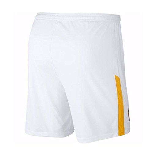 2017-2018 AS Roma Away Nike Football Shorts (Kids) Nero (Anthracite/Black/White)
