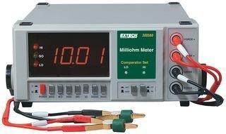 Extech Instruments 380562 High Resolution Precision Milliohm Meter (220 VAC), 6.3