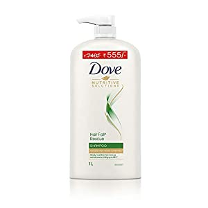 Dove Hair Fall Rescue Shampoo, 1 ltr