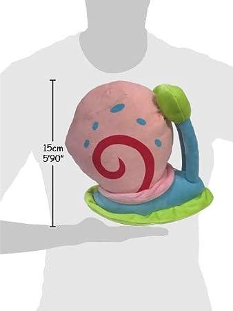 Bob Esponja - Pack 3 Peluches Bob (18cm) + Patricio (22cm) + Gary (13cm) - Calidad Soft