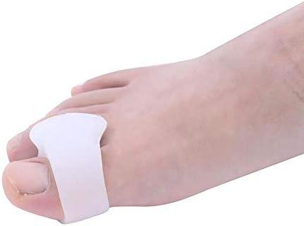 Tatapai Orthopädische Einlegesohlen Zehenglätter 1 Paar Silikonkorrektor Zehentrenner Glätteisenschmerzmittel Werkzeug Protectortoe