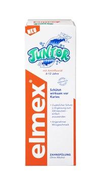 ELMEX Junior Zahnspülung 400 ml Spüllösung