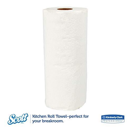 Scott 13608 Kitchen Roll Towels, 11 X 8 39/50, 96 Per Roll