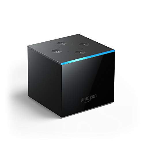 All-new Fire TV Cube, hands-free with Alexa and 4K Ultra HD, streaming media player (The Best Streaming Tv)