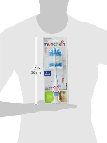 Munchkin Deluxe Bottle Brush, Colors May Vary