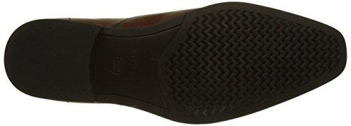 Geox U New Life E - Zapatos Hombre Marrón (Cognac)