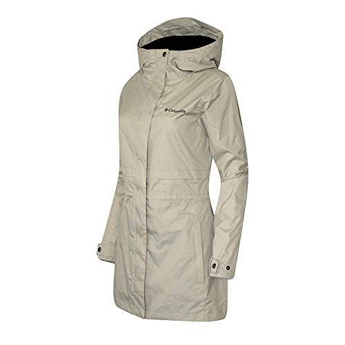 Columbia Women's Plus Shine Struck II Waterproof Mid Rain Jacket