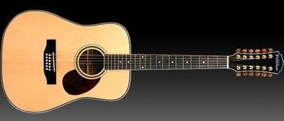 Freshman cedro Creek FA250D12 12 cuerdas guitarra acústica: Amazon ...