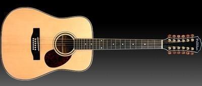 Freshman cedro Creek FA250D12 12 cuerdas guitarra acústica ...