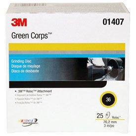 3M Green Corps Roloc Disc 264F 3