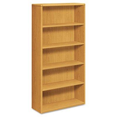 HON 10755CC Five Shelf 36w x 13 1/8d x 7 - 10700 Series Laminate Wood Furniture Shopping Results