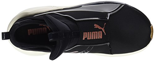 Black Puma whisper Scarpe Sportive White Nero Indoor Donna Fierce VR 00CBq