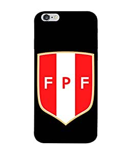 ColorKing Football Peru 08 Black shell case cover for Apple iphone 6 / 6s