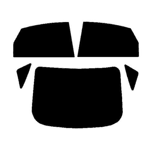 PSSC Pre Cut Front Car Window Films for VW Caddy 2002-2008 50/% Light smoke Tint