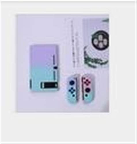 SzKing 任天堂スイッチコントローラシェルハード住宅のフルカバーケースゲームコンソールのカラフルなシェルのための保護ケース ホット (Color : F)