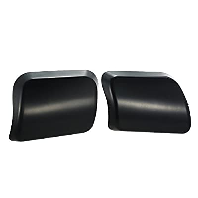 KKmoon Pair of Car Headlight Washer Nozzle Cover Cap for Volvo XC90 2002-2006 30698208 30698209