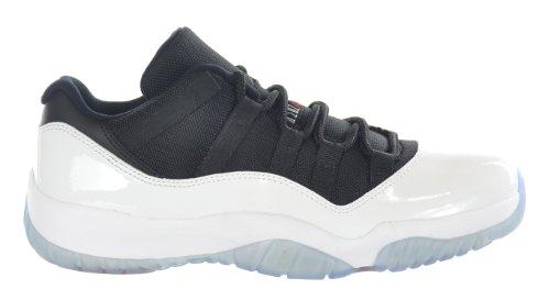 Nike Air Jordan 11 Retro Low, Zapatillas de Baloncesto para Hombre white/black-true red