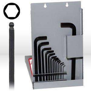 Eklind 13216 16 keys hex long .050-5/8 in metal box (3 16 Allen Wrench Long)