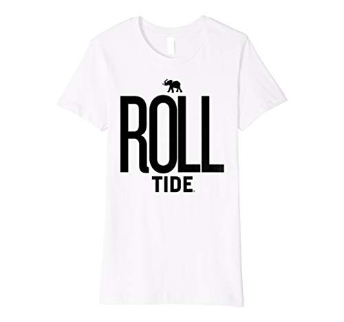 Alabama Crimson Tide Cute Women's NCAA T-Shirt 80MS-AL