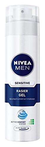 Nivea Men Sensitive Rasiergel, 6er Pack (6 x 200 ml)
