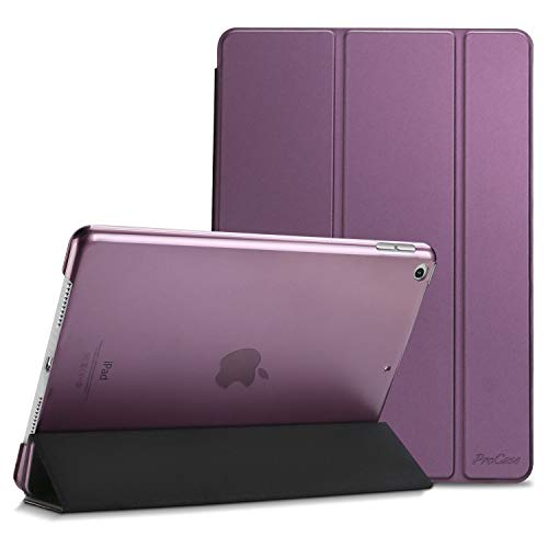 Best Review Of ProCase iPad 10.2 Case 2019 iPad 7th Generation Case, Slim Stand Hard Back Shell Prot...