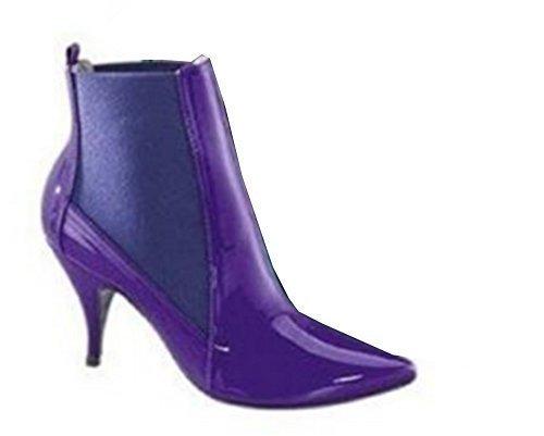 Heine bottines forme de dentelle violet Violet - Violet